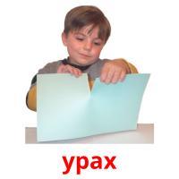 урах picture flashcards