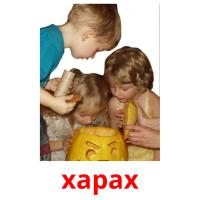 харах picture flashcards