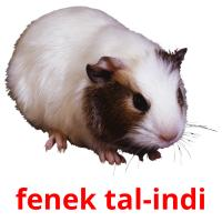 fenek tal-indi card for translate