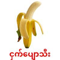 ငှက်ပျောသီး picture flashcards