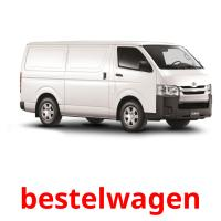 bestelwagen picture flashcards