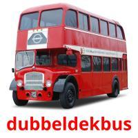 dubbeldekbus picture flashcards