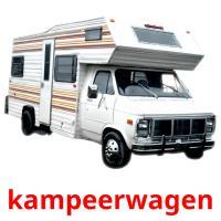 kampeerwagen picture flashcards