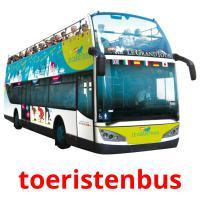 toeristenbus picture flashcards