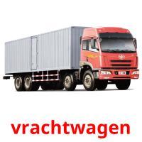 vrachtwagen picture flashcards