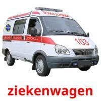 ziekenwagen picture flashcards