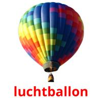 luchtballon picture flashcards
