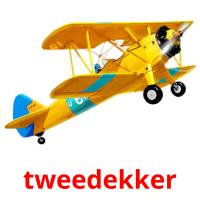 tweedekker picture flashcards