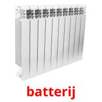 batterij picture flashcards