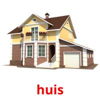 huis picture flashcards