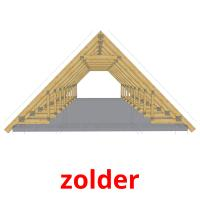 zolder picture flashcards