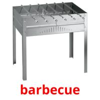 barbecue picture flashcards