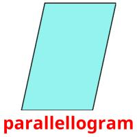 parallellogram picture flashcards