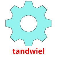 tandwiel picture flashcards