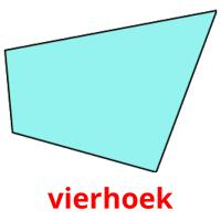vierhoek picture flashcards