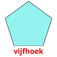vijfhoek picture flashcards