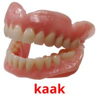 kaak picture flashcards