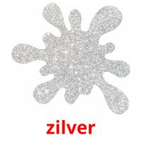 zilver picture flashcards