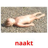 naakt picture flashcards