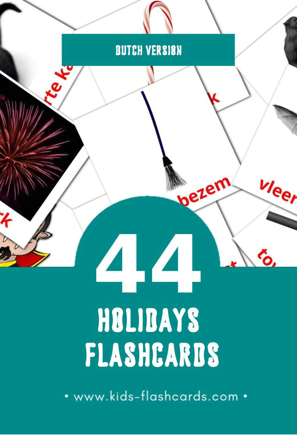 Visual hope goed bezig weer Flashcards for Toddlers (44 cards in Dutch)