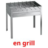 en grill picture flashcards