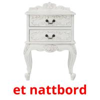 et nattbord picture flashcards