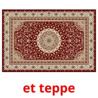 et teppe picture flashcards