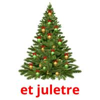 et juletre picture flashcards