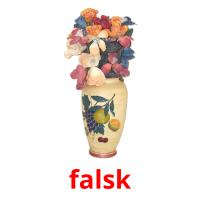 falsk picture flashcards