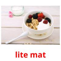 lite mat picture flashcards