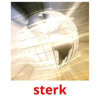 sterk picture flashcards