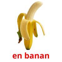 en banan picture flashcards