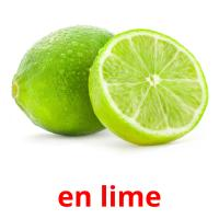 en lime picture flashcards