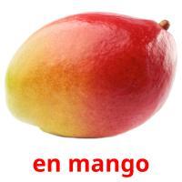 en mango picture flashcards