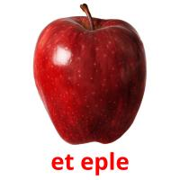 et eple picture flashcards