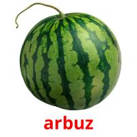 arbuz picture flashcards