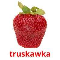 truskawka picture flashcards