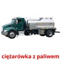 ciężarówka z paliwem picture flashcards