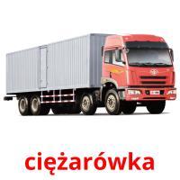 ciężarówka picture flashcards