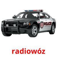 radiowóz picture flashcards