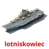 lotniskowiec picture flashcards
