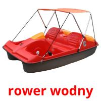rower wodny picture flashcards