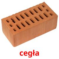 cegła picture flashcards