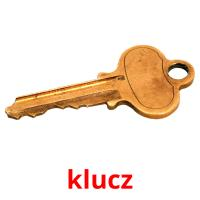 klucz picture flashcards