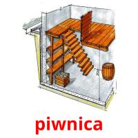 piwnica picture flashcards