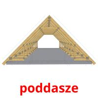poddasze picture flashcards