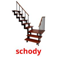 schody picture flashcards