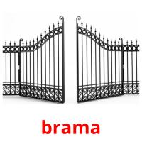 brama picture flashcards
