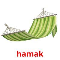 hamak picture flashcards