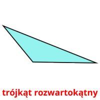 trójkąt rozwartokątny picture flashcards